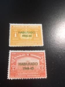 Honduras sc 342-343 MHR