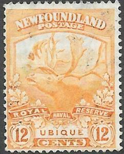 Newfoundland Scott Number 123 F Used