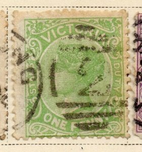 Victoria 1884-86 Early Issue Fine Used 1d. 326806