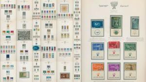 ISRAEL 1948/71 Hingeless M&U Album Collection(Appx 400+)ALB1043