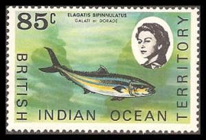 British Indian Ocean Territory 27 Mint VF NH