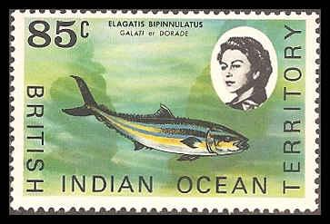 British Indian Ocean Territory 27 Mint VF NH