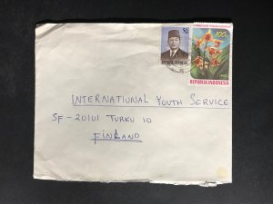 Indonesia #780//B242 Cover to Finland (1970-1999) Cover #7106