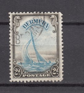 J26607 JLstamps 1936-40 bermuda used #109 better yacht lucie