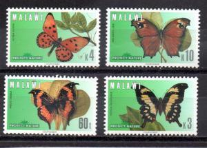 Malawi 651-654 MNH