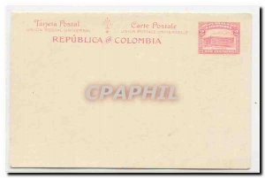Colombia postal card #20 (entier postal stationery Colombie)