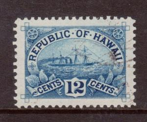 Hawaii #78 Used Superb **With Graded 98 Certificate**