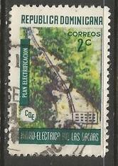 Dominican Republic 660 VFU HYDROELECTRIC A1361-3