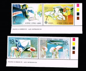 CYPRUS STAMP MNH/OG PAIR STAMPS LOT