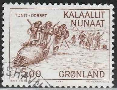 Greenland, #147 Used From 1981