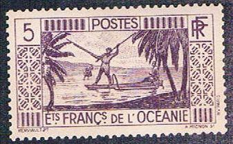 French Polynesia 84 MLH Spear Fishing (BP4612)