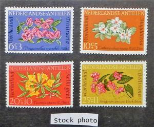 Netherlands Antilles B64-67. 1964 Flowers, NH
