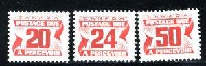 C  J38-J40 M NH VF 1977-78 PD