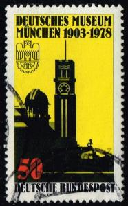 Germany #1269 Museum Tower and Observatory; Used (0.30)