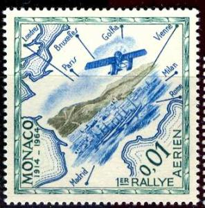 Monaco 1964: Sc. # 565; O/Used Single Stamp