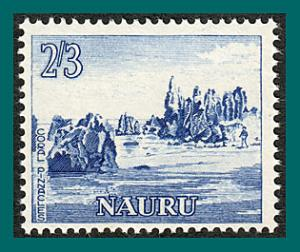 Nauru 1964 Coral Pinnacles, MNH #55,SG63