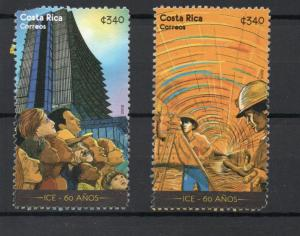 Costa Rica 628a,628b used