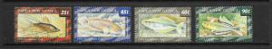 FISH - PAPUA NEW GUINEA #810-813  MNH