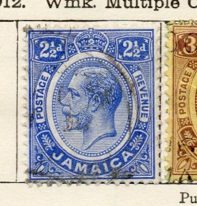 Jamaica 1912 Early Issue Fine Used 2.5d. NW-114306
