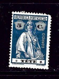 Tete 31 MH 1914 issue short corner perf