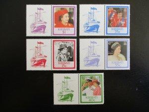 Kiribati #470-74 Mint Never Hinged (M7N4) - Stamp Lives Matter! 2