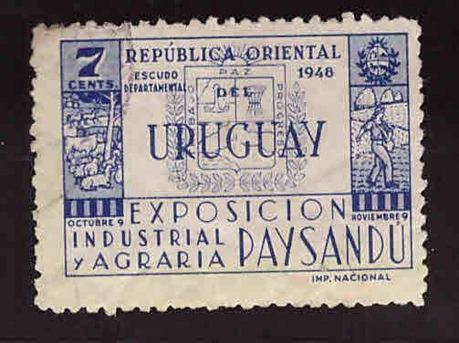 Uruguay Scott 565 Used stamp
