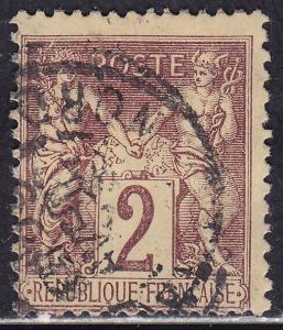 France 88 Peace & Commerce 2c 1877