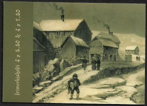 Faroe Is #482a MNH Complete Booklet - Antique Art