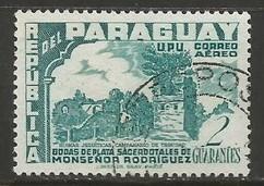 PARAGUAY C225 VFU O553-4