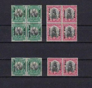 SOUTH WEST AFRICA  SUID WES  BLOCKS   MOUNTED MINT STAMPS  R 2451