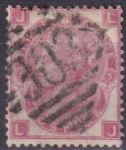 Great Britain #49 Plate 5 F-VF Used CV $62.50 (SU7250)