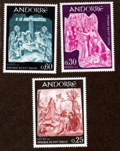 French Andorra 178-180 Mint NH!