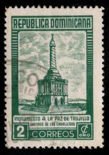 Dominican Republic Scott 458 Used  stamp