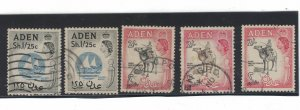 75 - Aden (2 Sh) 1964 - Postage stamps Types of 1953-1959 - Different Watermark