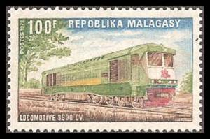 Malagasy Republic 472 Mint VF HR (small)