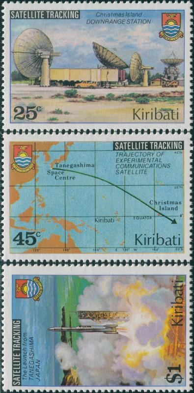 Kiribati 1980 SG109-111 Satellite set MNH
