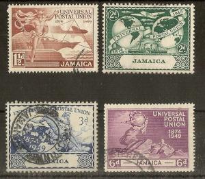 Jamaica 1949 UPU Set Fine Used