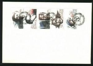 Sweden. FDC Nobel Peace 1986 With Booklet Panel. Engraver Martin Morck.