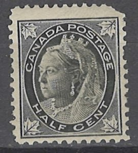 COLLECTION LOT # 3630 CANADA #66 MH 1897 CV+$15 CORNER FAULTY