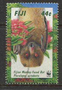 Fiji - Scott 797 - Bats Issue -1997 - FU - Single 44c Stamp