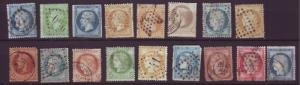J20107 jlstamps old 1800,s france used lot condition varies buyer identifies #