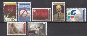 J26424  jlstamps 2005 greece set mnh #2180-6 designs, all checked