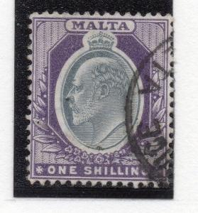 Malta 1904-10 Early Issue Fine Used 1S. 241949