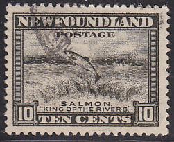 Newfoundland 193 Used 1932 Perkins Bacon Printings