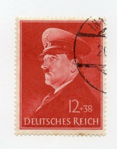 Germany 1943 Early Issue Fine Used 12pf. NW-100732
