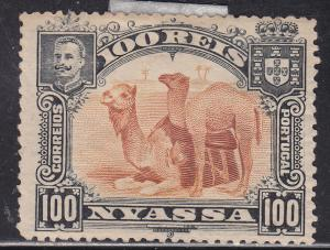 Nyassa 35 Camels Resting in the Sand 1901