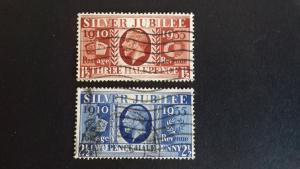 Great Britain 1935 The 25th Anniversary of King George V Used