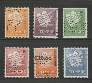 MX-75 fiscal revenue stamp c Shipping note - Costa Rica