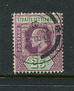 Straits Settlements #117 Used