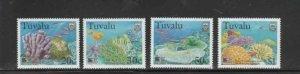 TUVALU #776-779 1998 MARINE LIFE MINT VF NH O.G